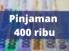 Pinjaman online 400 ribu